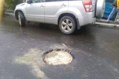 Жители Владивостока возмущены качеством ремонта дорог