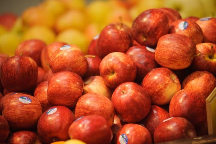 ВРязани уничтожили санкционные яблоки икабачки