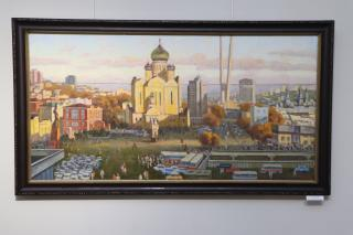 Фото: Екатерина Дымова / PRIMPRESS | Приморские художники поздравляют Владивосток с 161-м днем рождения