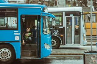 Фото: PRIMPRESS   Управление транспорта проверило состояние пассажирских автобусов во Владивостоке