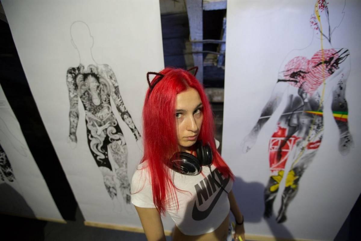 Во Владивостоке открылась выставка татуировщиков