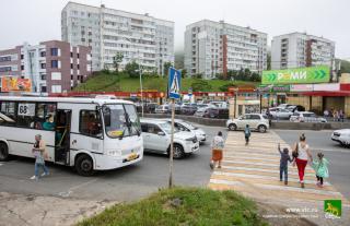 Фото: Анастасия Котлярова / vlc.ru | Во Владивостоке рядом с новым местом отдыха изменится схема дорожного движения