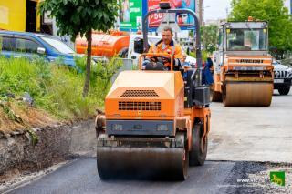 Фото: Евгений Кулешов / vlc.ru | Ладыгина, Стрелковая, Ватутина. Где ведется активный ремонт дорог во Владивостоке?
