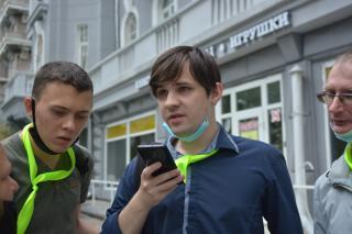 Фото: PRIMPRESS | «Другая реальность»: во Владивостоке стартовал квест для инвалидов по зрению