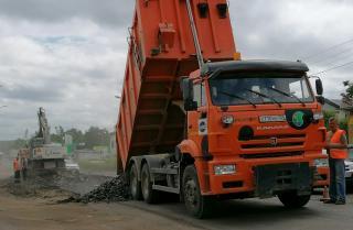 Фото: АО «Примавтодор» | В Приморье проходит ремонт участка дороги Осиновка – Рудная Пристань