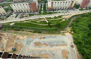 Фото: АО «Корпорация развития Приморского края» | Первый долгострой в Снеговой Пади во Владивостоке введен в эксплуатацию