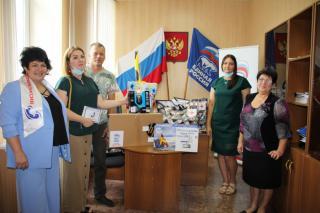 Фото: «Единая Россия» | «Единая Россия» помогла собраться в школу детям из семьи, лишившейся дома