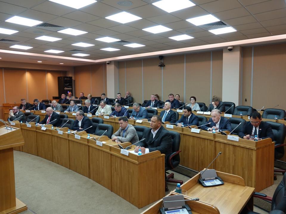 Депутаты рассмотрели проекты федеральных законов, затрагивающих интересы приморцев