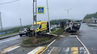 Фото: мвд25.рф   Молодой парень погиб под колесами Land Cruiser Prado на острове Русском