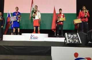 Фото: Краевая спортивная школа олимпийского резерва | Спортсмен из Приморья завоевал серебряную медаль первенства Европы по боксу