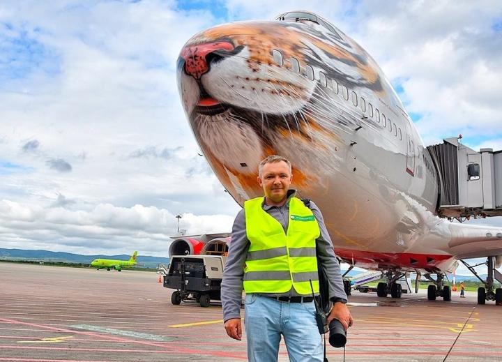 Вадим Луковенков: «Меня не остановят ни холод, ни снег, ни дождь, когда цель – сделать фото самолета»