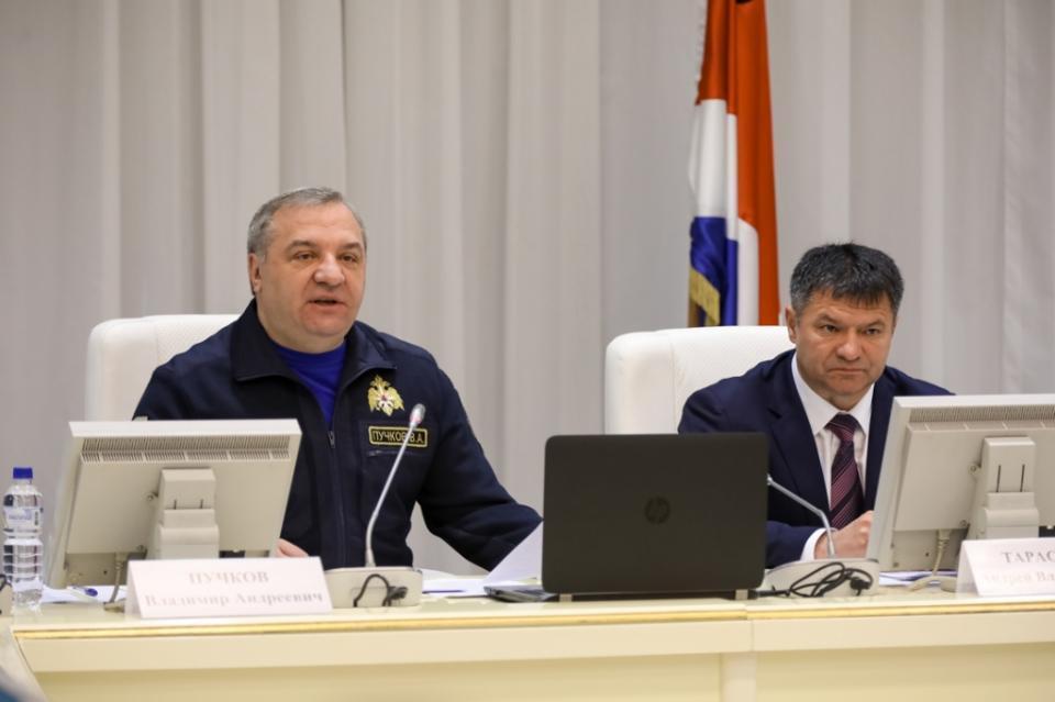 Пучков стал начальником предвыборного штаба Тарасенко
