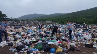 Фото: мвд25.рф   Приморец обнаружил жуткую находку на свалке