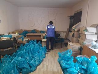 Фото: «Единая Россия»   В Партизанске подготовили гуманитарную помощь для граждан из группы риска
