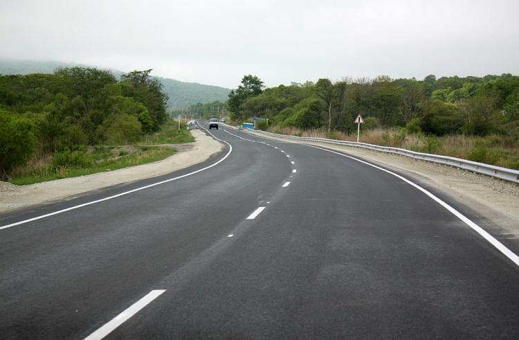 Печальное событие произошло на месте строительства трассы в Приморье