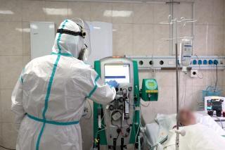 Фото: PRIMPRESS | Врач раскрыла, сколько привитых лежит в ковидном госпитале Владивостока
