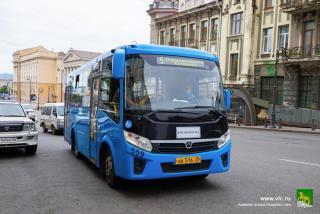 Фото: vlc.ru   Автобусы в центре Владивостока будут ходить по-другому