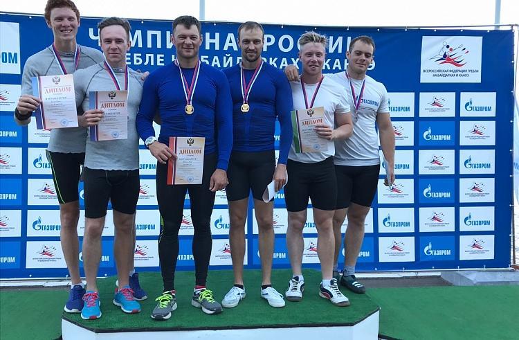 Приморские гребцы завоевали 16 медалей на чемпионате России