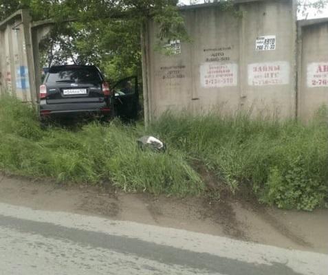Необычное ДТП произошло во Владивостоке