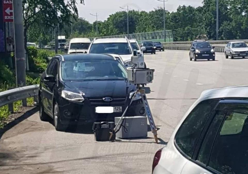 «Сдающие» приморских водителей люди с радарами придумали новую фишку