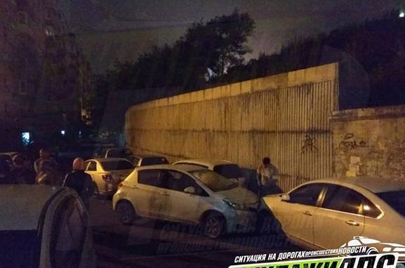Пьяная автоледи устроила массовое ДТП во Владивостоке
