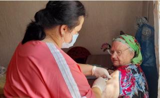 Фото: primorsky.ru | Медицинские бригады помогают пожилым приморцам сделать вакцину от коронавируса