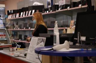 Фото: Анастасия Якушева/PRIMPRESS   В Приморье мобильные группы проверили соблюдение масочного режима в популярных торговых точках