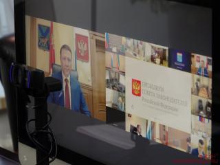 Фото: zspk.gov.ru | Александр Ролик принял участие в совещании о мерах поддержки малого бизнеса