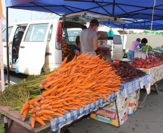 Фото: PRIMPRESS   Сельхозярмарки в Артеме работают с соблюдением профилактических мер