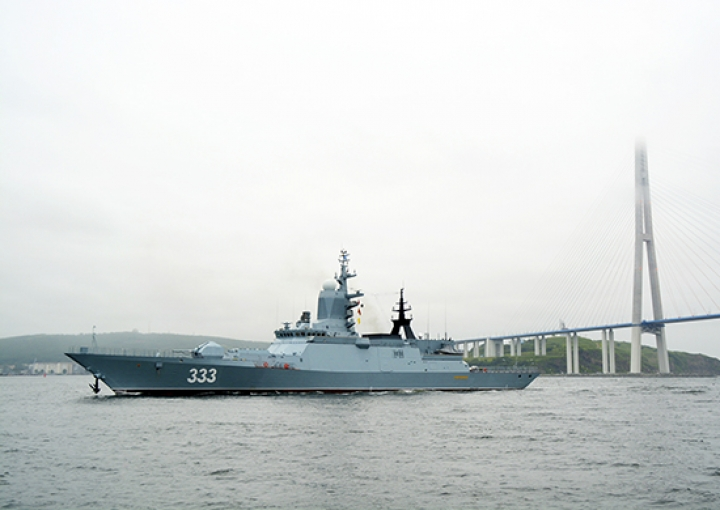 Корвет «Совершенный» представит ВМФ Российской Федерации намеждународном конкурсе «Кубок моря-2017»