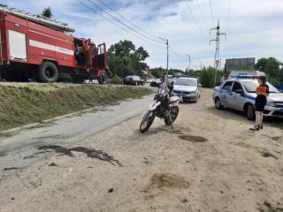 Фото: пресс-служба ОМВД России по городу Артему   В Приморье иностранка разбилась на мотоцикле