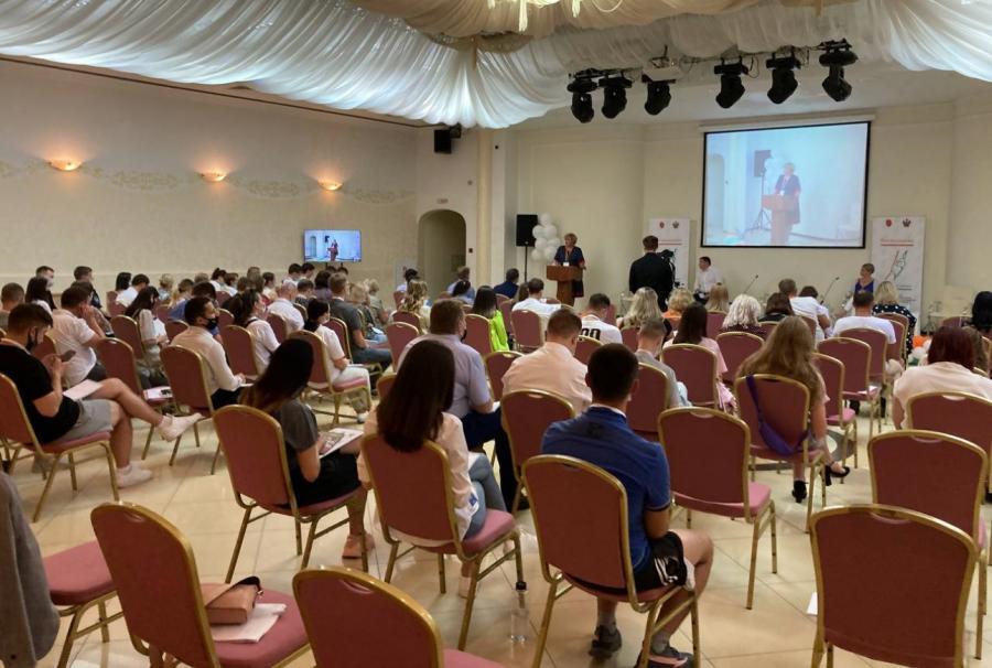 На всероссийском форуме Социальный десант Молодежный ресурсный центр представляет Приморье