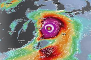 Фото: CNN | Метеоэксперт назвал точные даты выхода тайфуна «Ин-фа» на Приморье