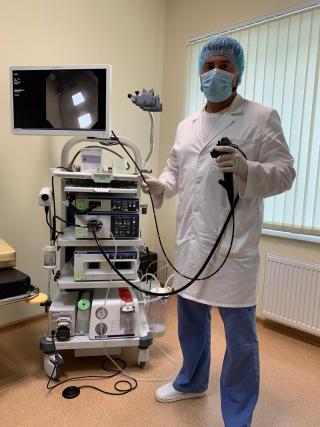 Фото: пресс-служба краевого онкологического диспансера   В Приморье пациентов обследуют при помощи ультратонкого эндоскопа