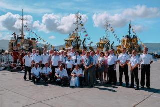 Фото: АО «Восточный Порт» | В компании АО «Восточный Порт» отметили 47-летие образования Портового флота
