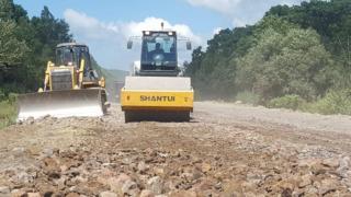 Фото: АО «СПЕЦСУ» | В Приморье завершено более 50% строительства дорог по нацпроекту «БКД»