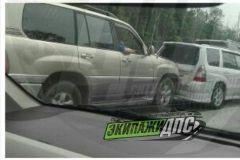 Из-за ДТП в районе поселка Де-Фриз собралась серьезная пробка