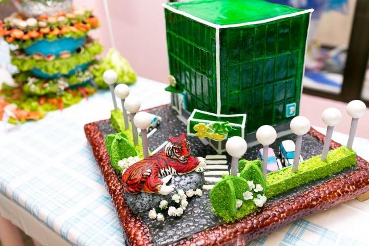 Сотрудники сети супермаркетов «Фреш 25» приняли участие в конкурсе ко Дню работника торговли