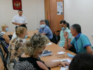 Фото: zspk.gov.ru   Председатель ЗС ПК Александр Ролик провел рабочую встречу с руководителями управляющих компаний ипредседателями ТСЖ