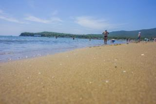 Фото: Анна Шеринберг   Жителям и гостям Приморья нужно быть внимательными на пляжах