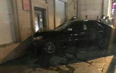 Mark II врезался в здание библиотеки в центре Владивостока