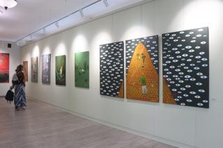 Фото: Екатерина Дымова / PRIMPRESS | Во Владивостоке открылись персональные выставки современных российских художников