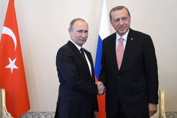 Эрдоган назвал Владимира Путина «дорогим другом»— переговоры удались
