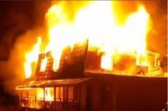 Маленькую девочку вытащили из огня на базе отдыха в Приморье