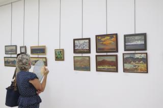 Фото: Екатерина Дымова / PRIMPRESS | Во Владивостоке открылась очередная выставка, посвященная 100-летию Кирилла Шебеко