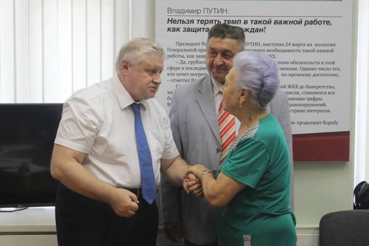 Сергей Миронов встретился с жителями Приморья