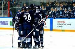 Хоккеисты из владивостокского «Адмирала» обыграли астанинский «Барыс»