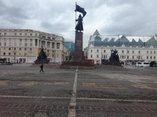 Фото: PRIMPRESS | Во Владивостоке до конца месяца ограничат проход через центральную площадь