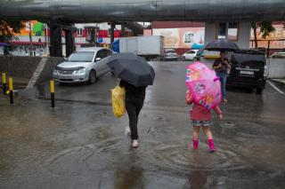 Фото: PRIMPRESS   Владивосток накроют два сильных ливня в выходные
