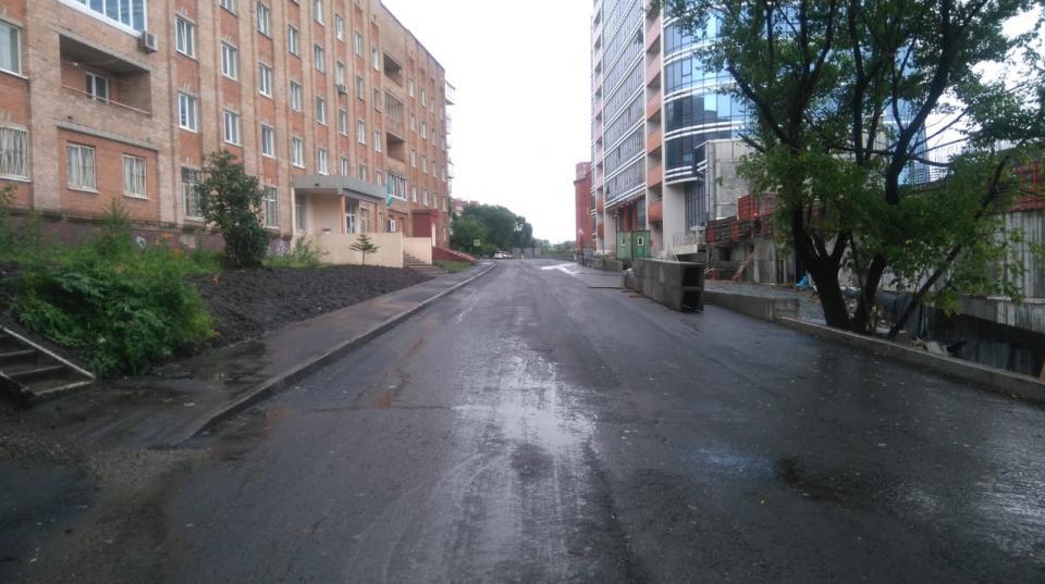 Движение на улице Станюковича во Владивостоке будет открыто 15 августа